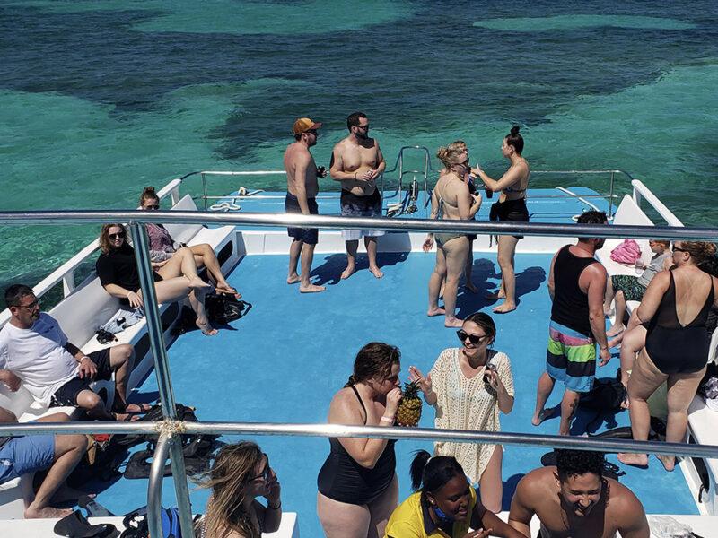 catamaran tour in punta cana - 6