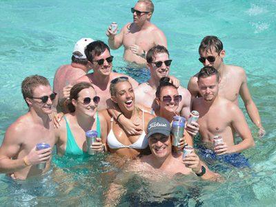 celebración de boda en catamarán en Montego Bay - 3