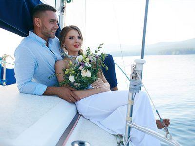 celebración de boda en catamarán en Montego Bay - principal