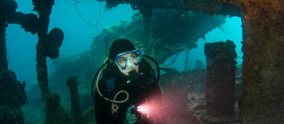 control de flotabilidad - wreck