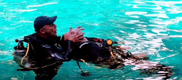 curso Rescue diver Paul