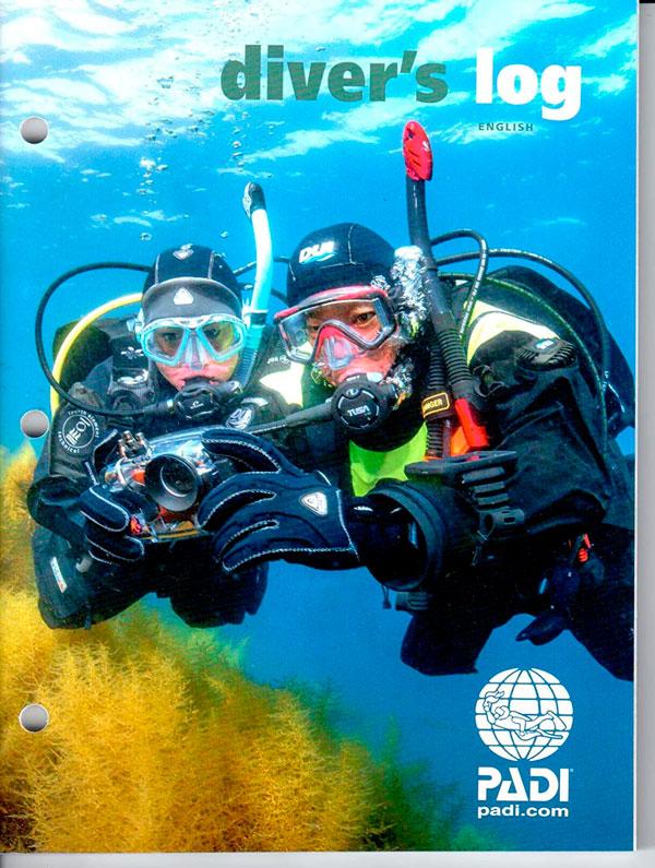diving logbook - 2