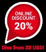 20 Online Discount