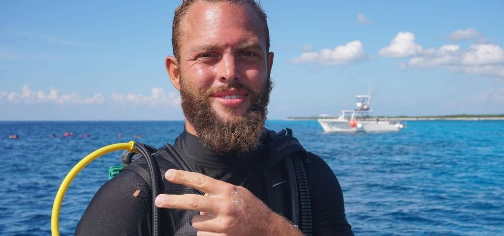 Dive Instructor in Cozumel - Gareth