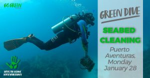 Seabed Cleaning Puerto Aventuras