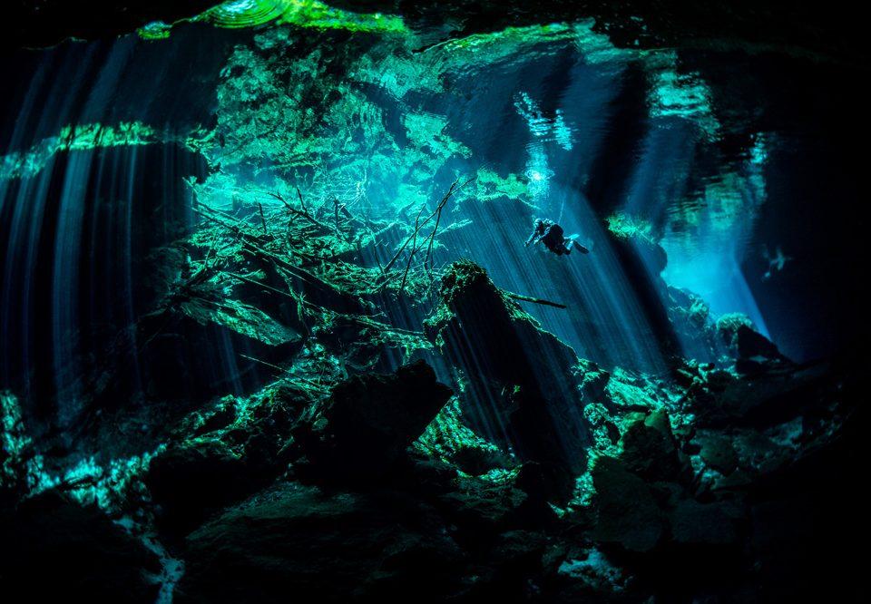 los mejores sitios de buceo del mundo - cenote