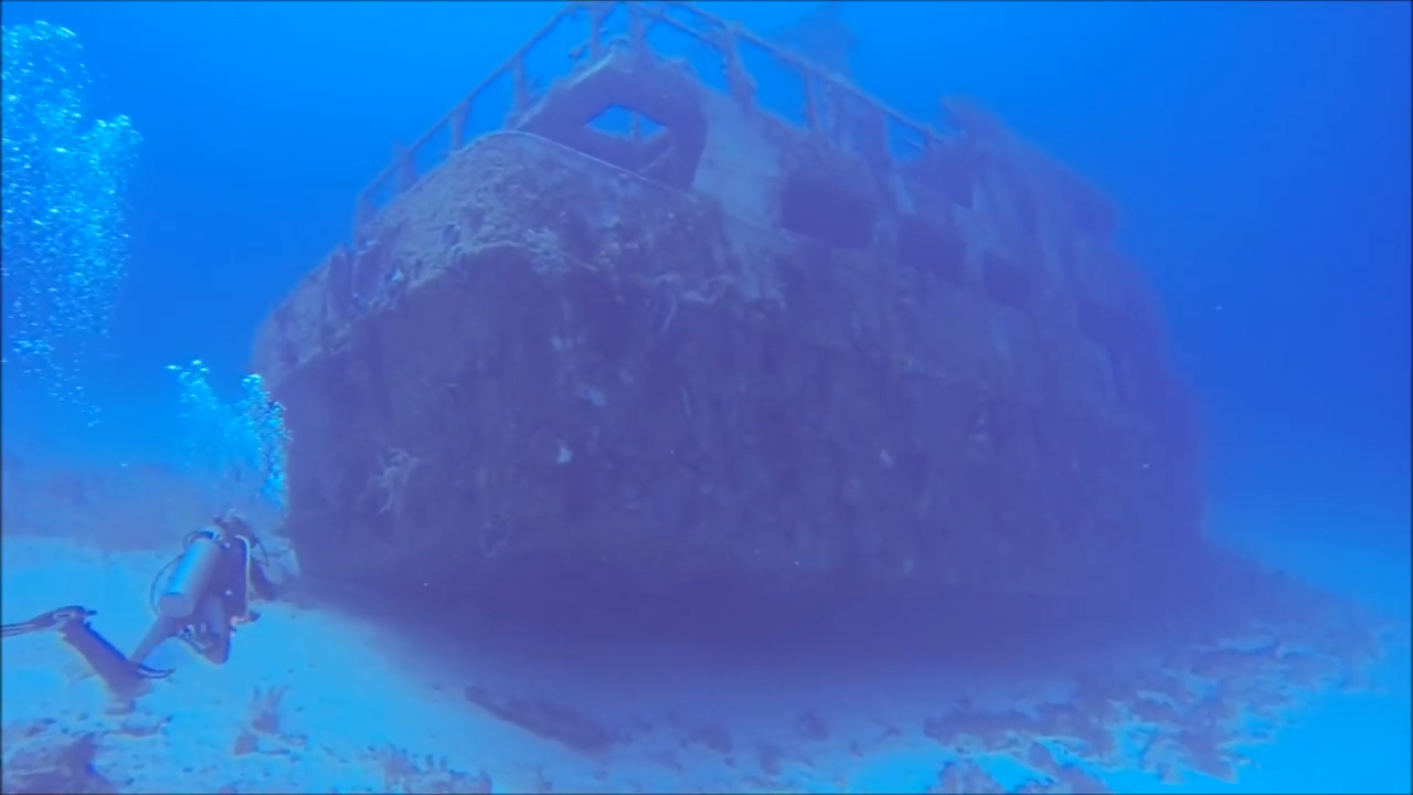 Caribbean Shipwrecks Mama Viña