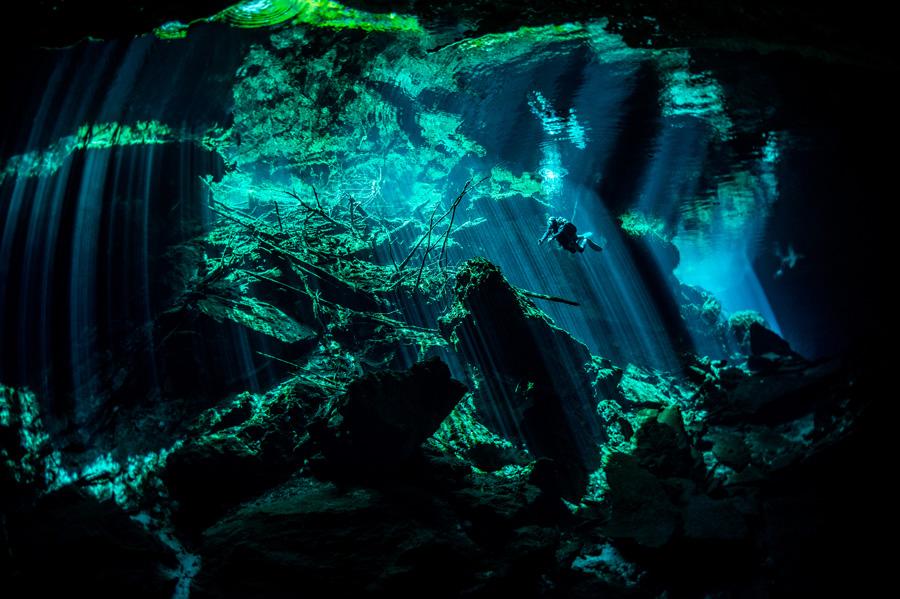 mejores lugares de buceo en el caribe - cenotes