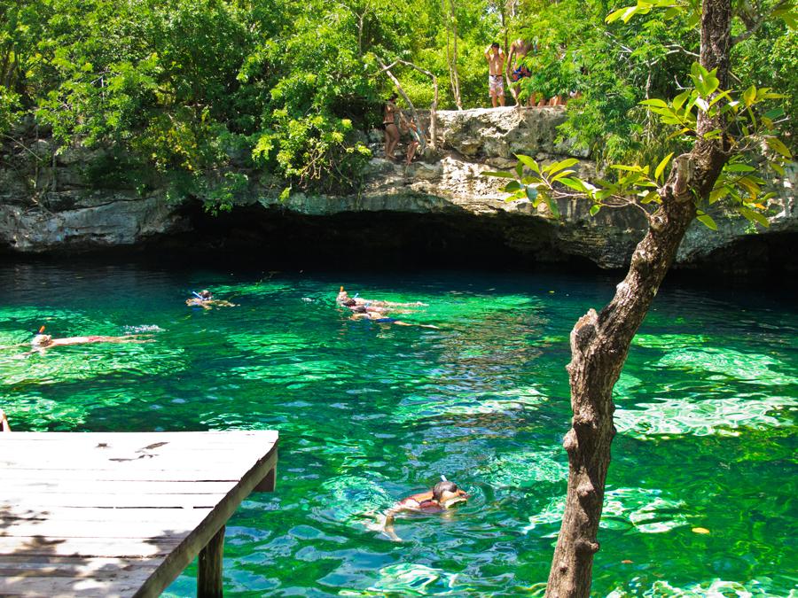 mejores sitios para hacer snorkel - cenotes