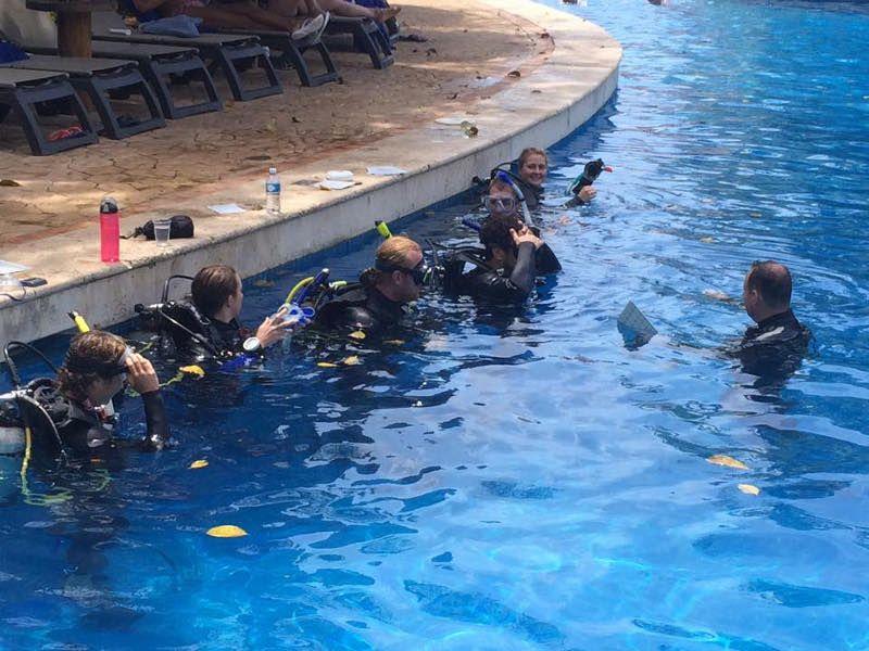 cours instructeur de plongée padi