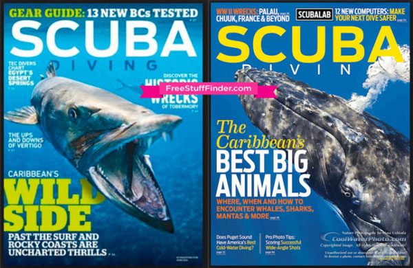 revistas de buceo -SCUBA DIVING