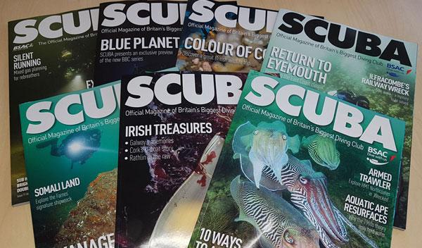 revistas de buceo - SCUBA
