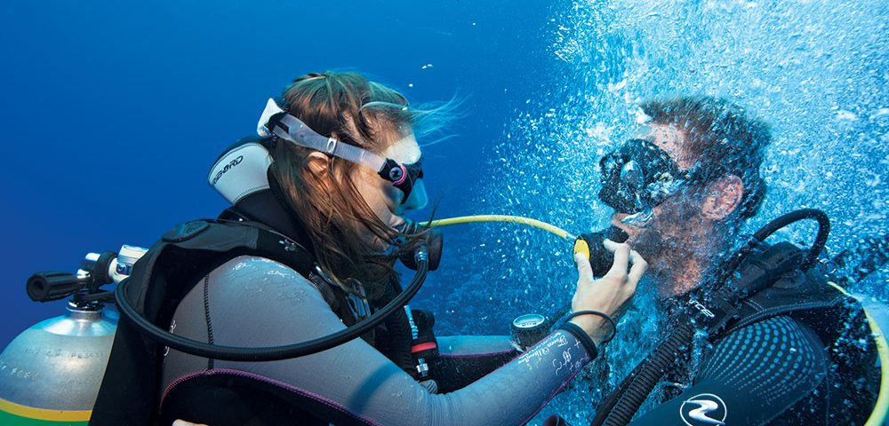scuba diving breathing techniques - main