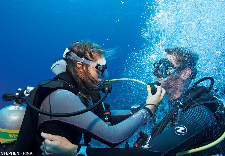 scuba diving breathing techniques - main