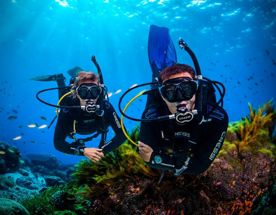 scuba diving price - main
