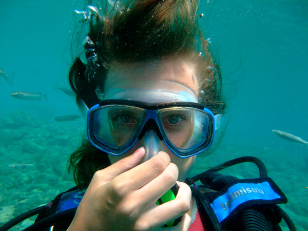 scuba tech tips - goggles