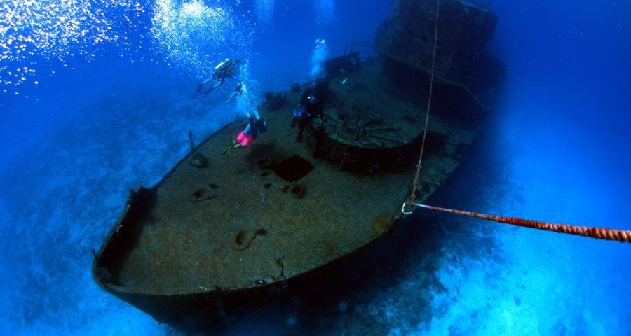 shipwreck in Chankanaab Cozumel (main)