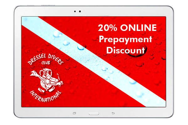 Dressel Divers 20% Discount
