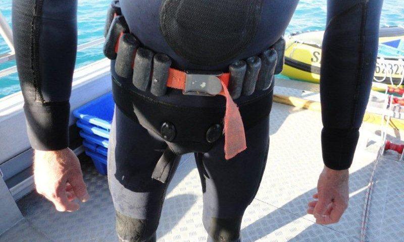 tamaño correcto cinturón de buceo - main pic