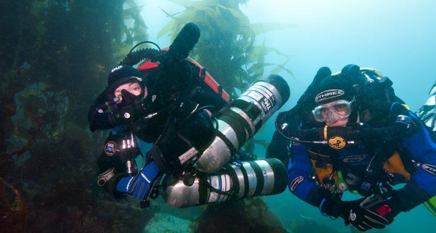 tech diving gear - main