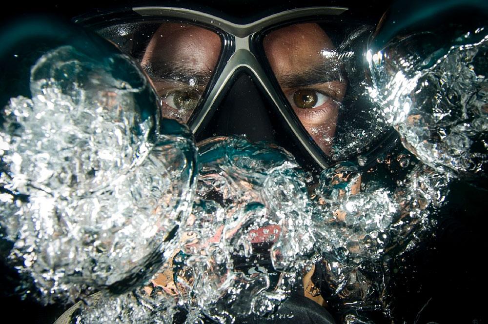 tecnicas de respiracion para buceo - goggles