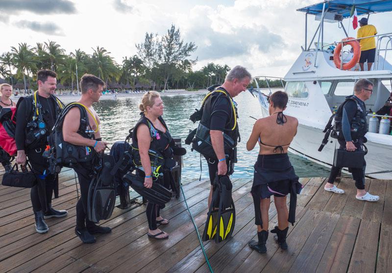 traveling with scuba gear - viajar con material de buceo