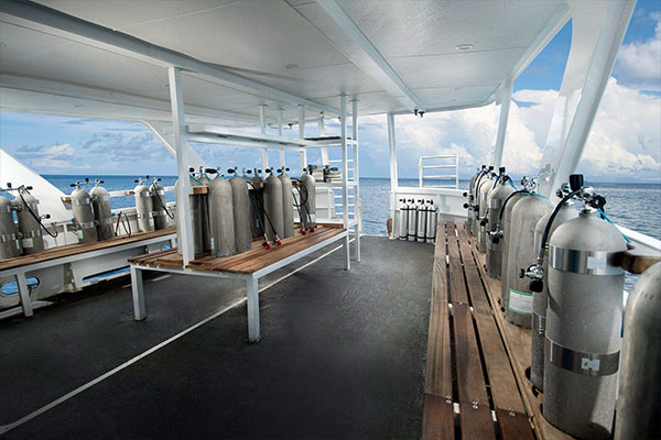truk lagoon liveaboard diving - facilities 2