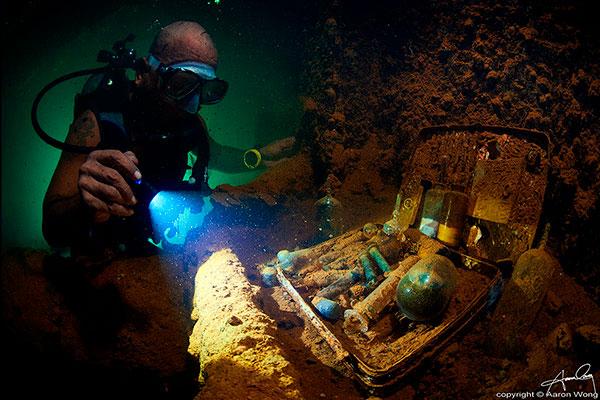 truk lagoon liveaboard diving - wreck dive 1