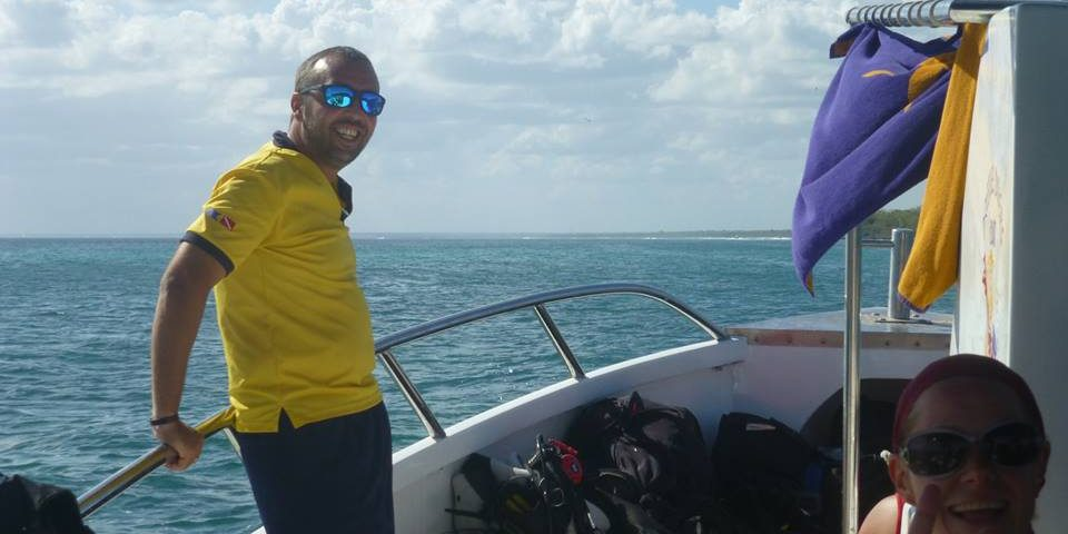 Dive Instructor in Bayahibe Vince