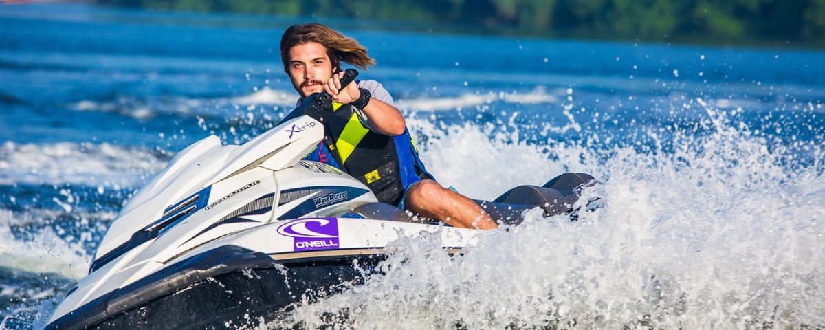 water sport activities - jet skiing